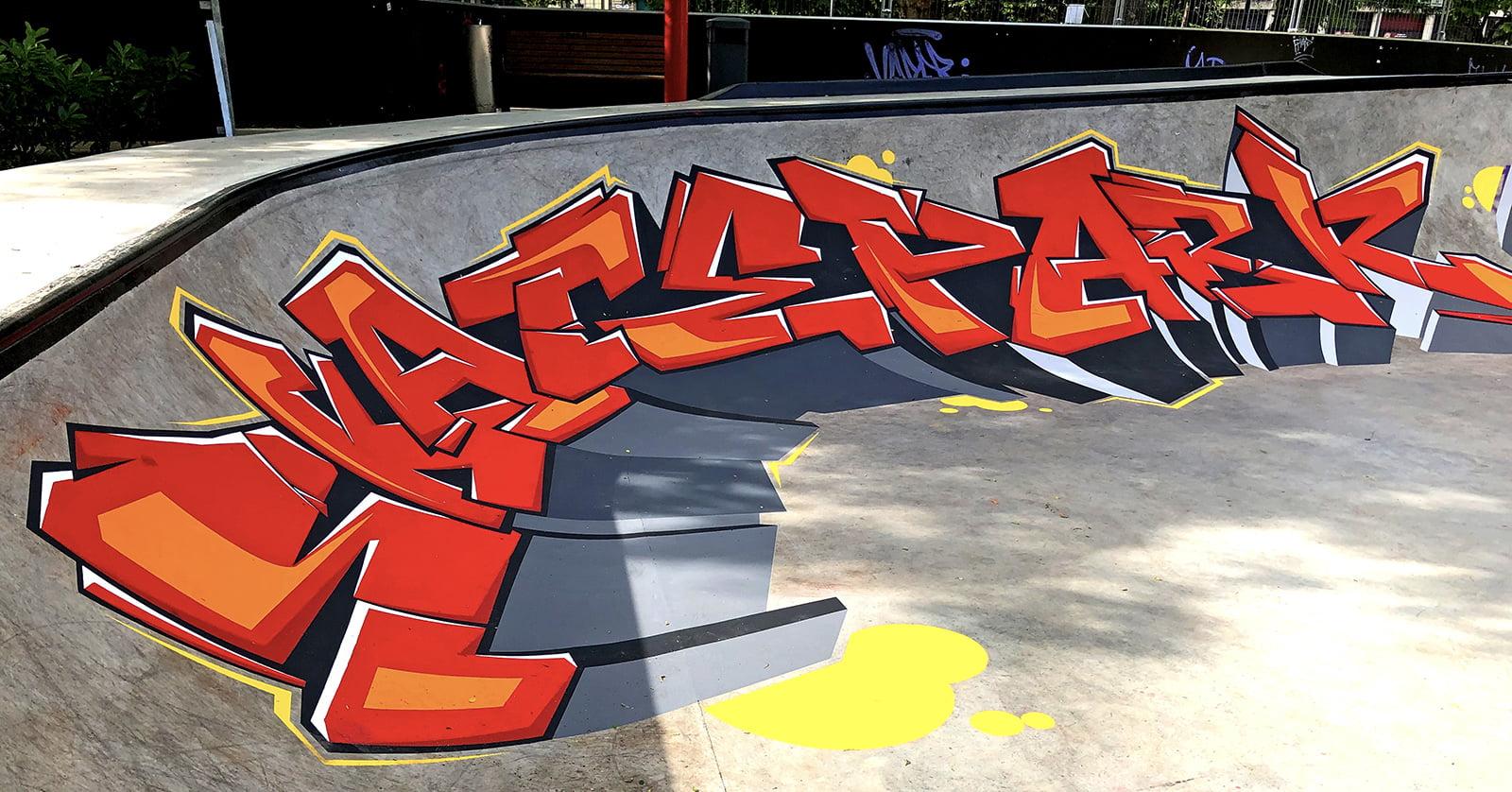 Neopaint skatepark