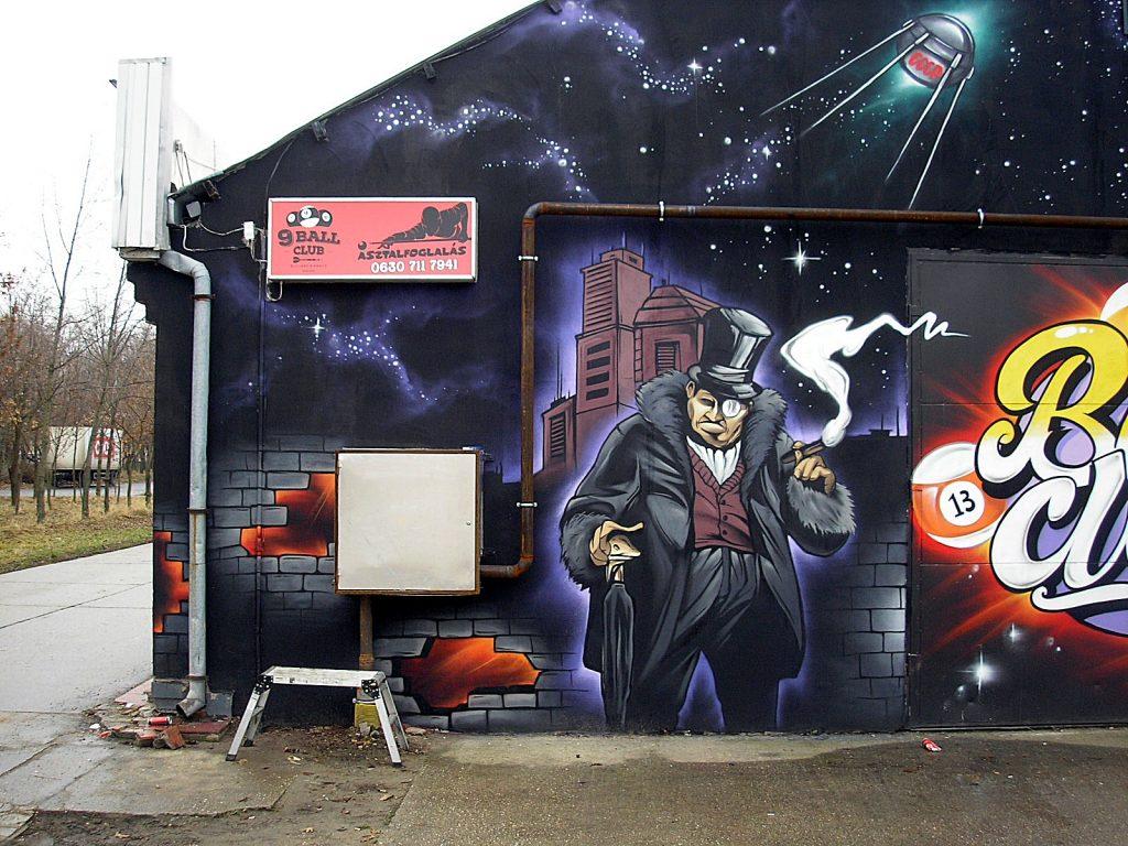 játékterem graffiti