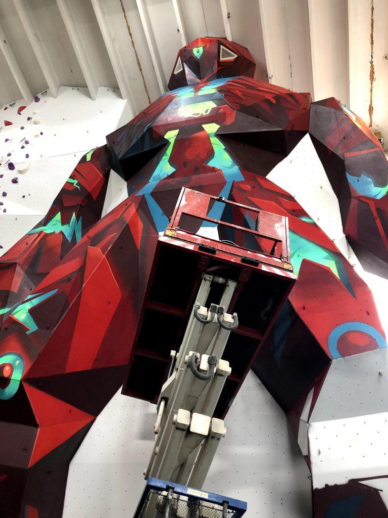 Robot festmény festés