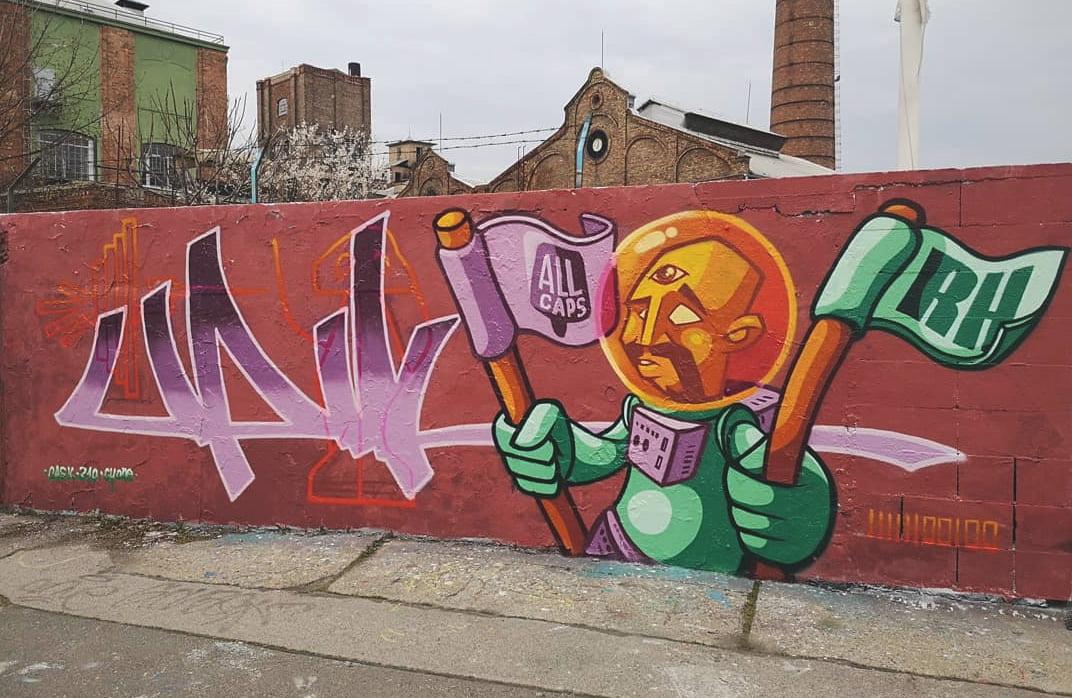 Interjú Upik graffiti művésszel