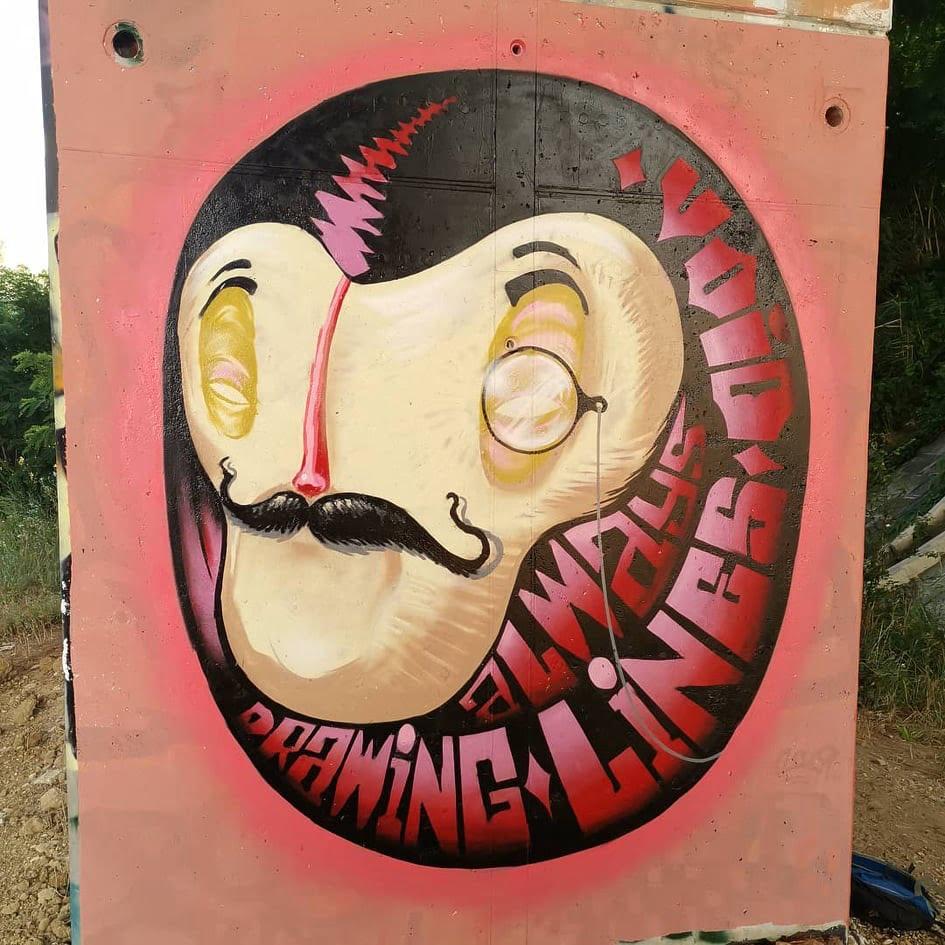 Void street art