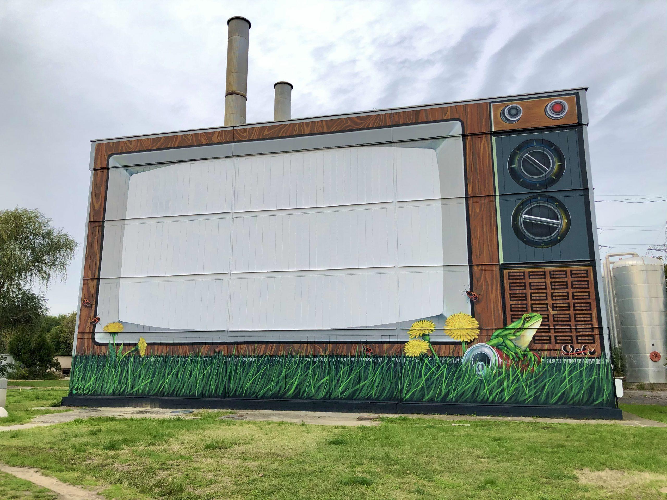 Városmetamorfózis street art program 2.