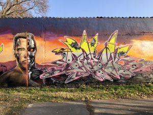 Posztapokaliptikus graffitik Szegeden