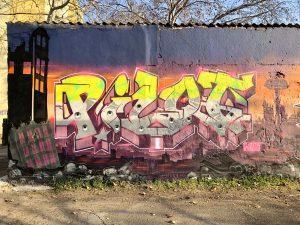 Posztapokaliptikus graffitik