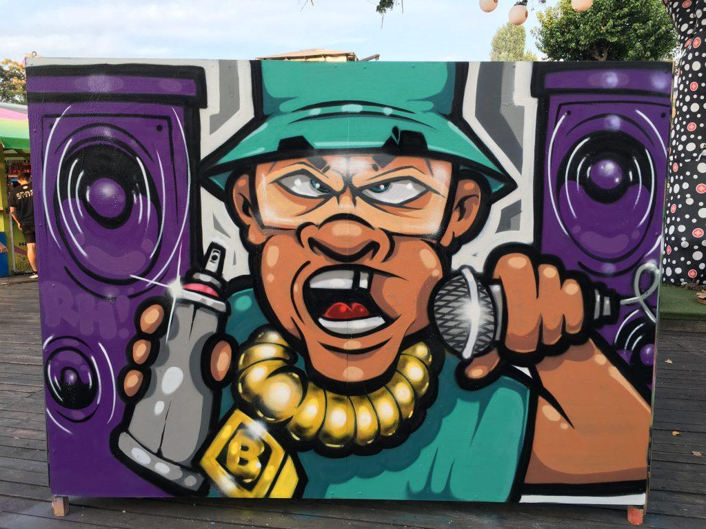 Bronk graffiti művész