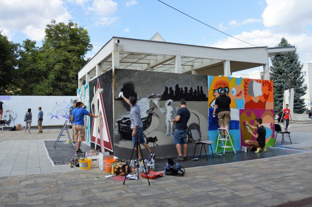 Live Street Art Érd